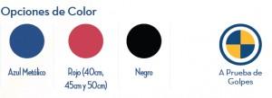 Opciones de Color Silla de Ruedas Eléctrica Energi