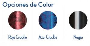 Colores Bastón Plegable con Mango de Gel
