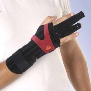 Acople dorsal de prolongación de mano-muñeca