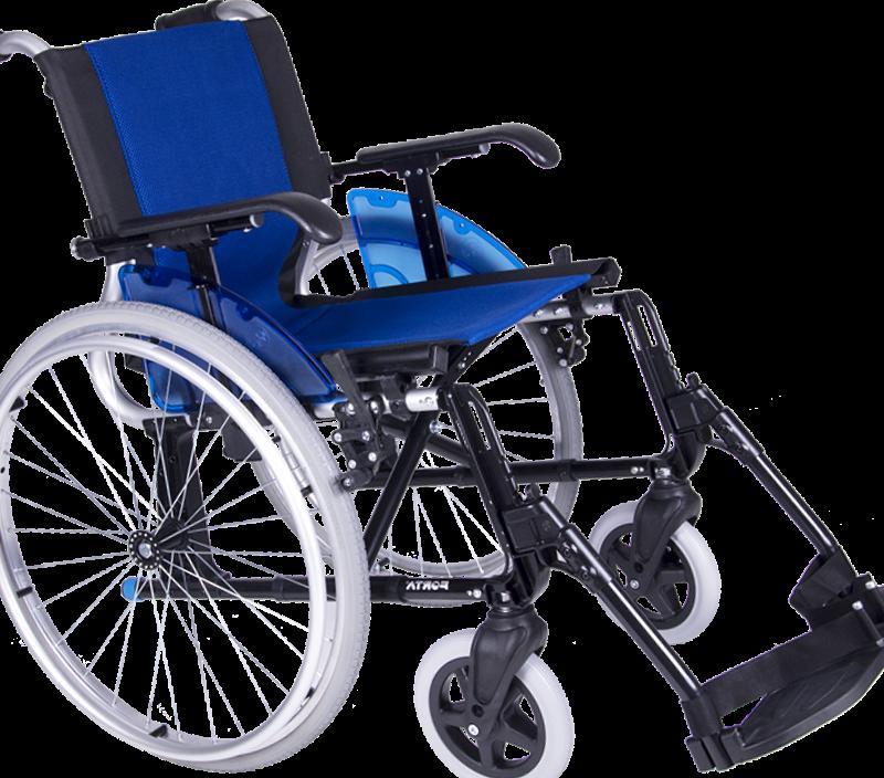 silla de ruedas para personas mayores