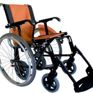 Silla-de-ruedas-line-duo-naranja