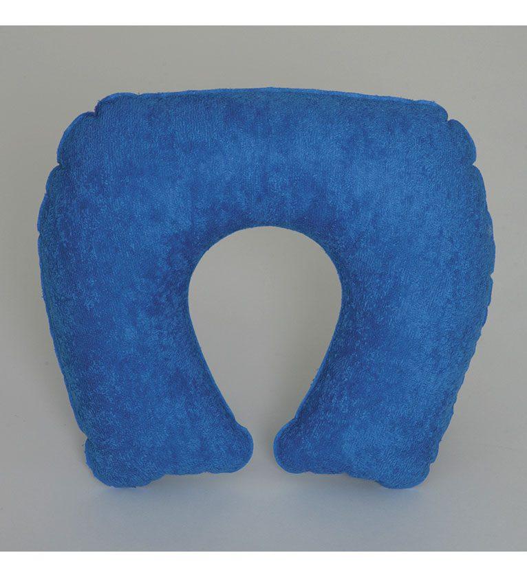 Almohada de Viaje Hinchable Rizo Azul