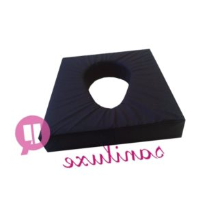 cojin-viscoelástico-agujero-desplazado