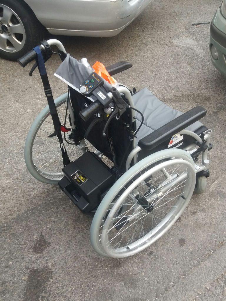 Motores para sillas de ruedas olvidate de empujar - Motor silla de ruedas ...