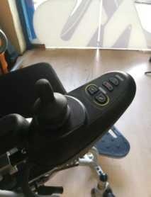 Mando de Silla de ruedas Electrica Plegable Ep500