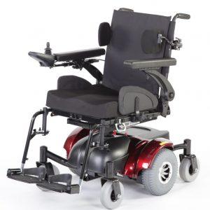 Silla-de-ruedas-electrica-Hula-visión-con-accesorios