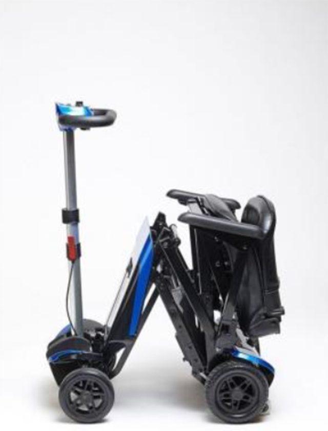 silla de minusvalido escooter plegable