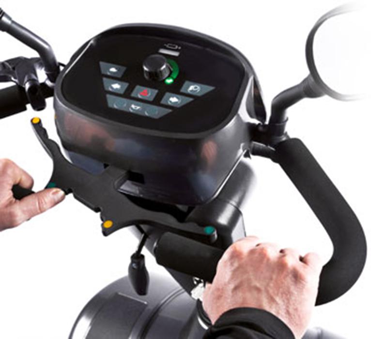 scooter-electrico-para-personas-mayores-S700-mandos
