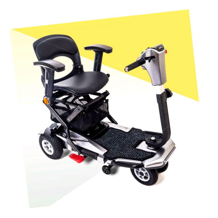 Scooter Plegable Automatica elite apex