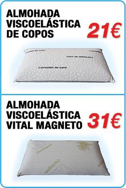 Oferta-Almohadas-camas-articuladas