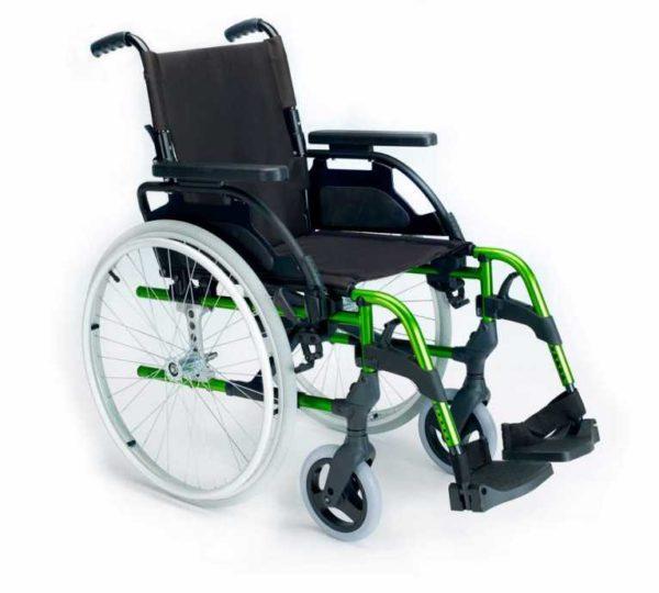 Silla de ruedas Manual Style Verde
