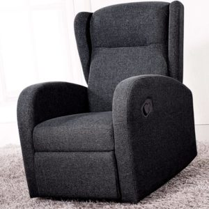 sillón-relax-milan-gris-marengo-para-mayores