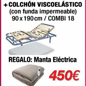 cama-articulada-geriatrica-colchon-viscoelastico