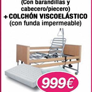 cama-carro-elevador-con-cabecero-piecero-barandilla-colchon-viscoelastico