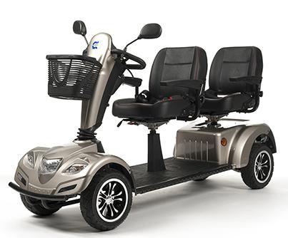 Scooter para Discapacitados y Minusvalidos Biplaza ( o dos plazas)
