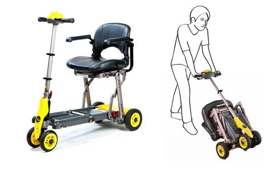 Scooter Eléctrico Yoga – Tipo Maleta Plegable