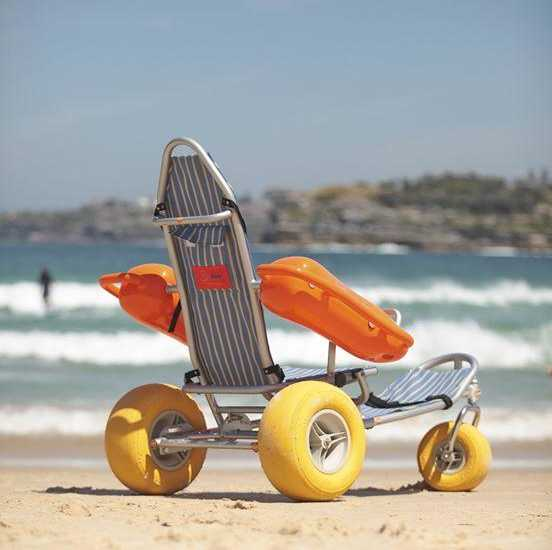 ruedas de playa para silla de ruedas