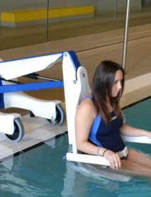 Grúas de Piscina para Discapacitados Móviles BLUPOOL