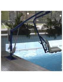 Grúas de Piscinas F145/F145B y Elevadores para Discapacitados