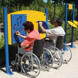 Parques para Mayores y Discapacitados