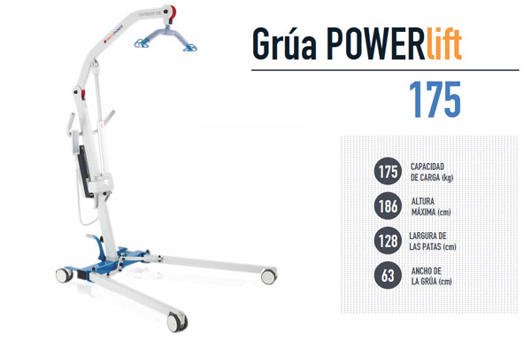 Grúa para Residencias de Ancianos POWERLIFT 175