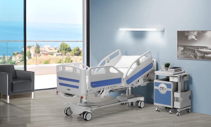 Cama para Uso Hospitalario MAJESTIC II Elevables y Graduables para el Confort del ENFERMO