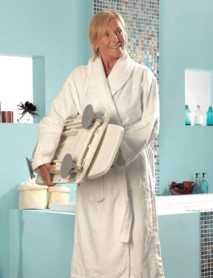 Ayudas para Bañar Personas Mayores AQUILA - Elevador de bañera eléctrico