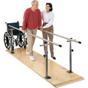 Barras Paralelas para Rehabilitación y Fisioterapia