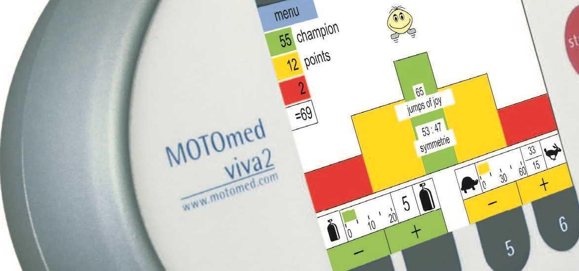Motomed - Características