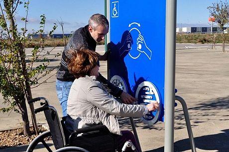Mampara para Discapacitados con Laberintos