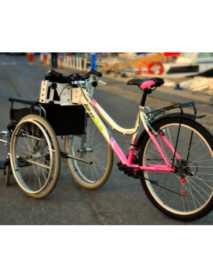 Kit ADAPTACION Bicicleta a Silla de Ruedas para Discapacitados y Mayores