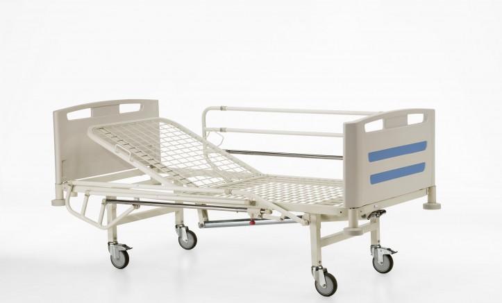 Camas para Enfermos de Hospital con Ruedas y Barandillas