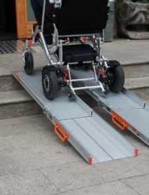 Comprar una rampa para subir una silla de Ruedas Eléctrica o un Scooter Eléctrico a un Coche