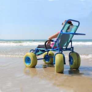 Sillas de Ruedas para Playa