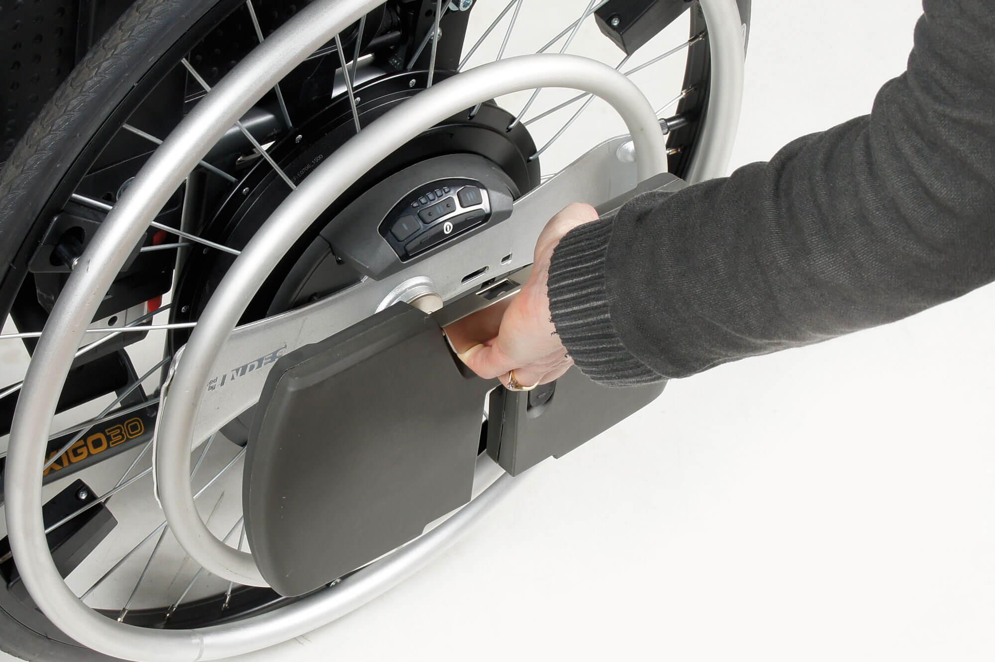AYUDAS Eléctricas para tú SILLA DE RUEDAS MANUAL WheelDrive