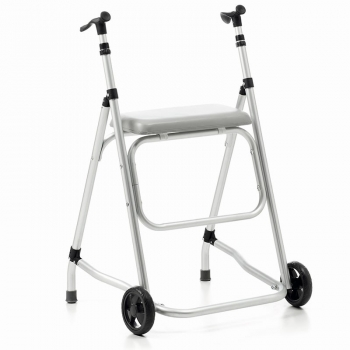 Andadores Plegables y Ligeros de ALUMINIO con asiento - REGULABLES EN ALTURA