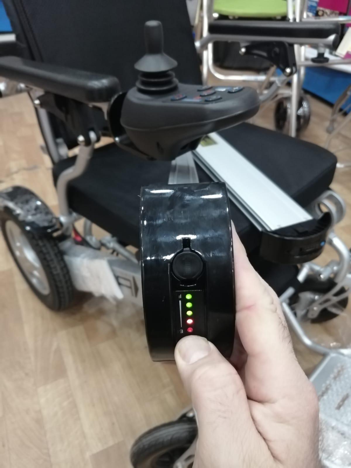 Baterias de litio de la silla de ruedas electrica SPA con indicador de bateria