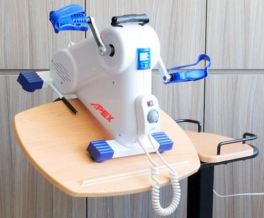 Pedalier Pasivo y Ejercitador de PIERNAS y BRAZOS - con Motor para ayudar al usuario