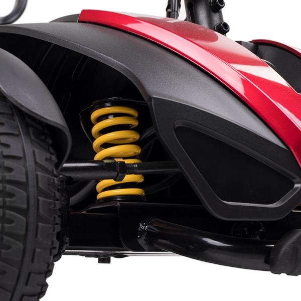 Scooter electricos com amortiguadores
