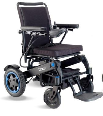 Silla de Ruedas Eléctrica Q50 Sunrise Medical