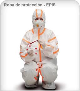 Ropa Desechable de Protección EPIs