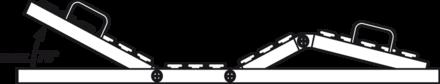 Ajuste electrónico de los planos de la espalda y de la triple función automática de reposapiés.