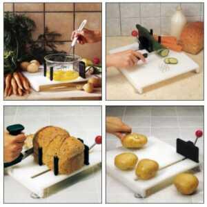 tablas para cocinar personas con una sola mano