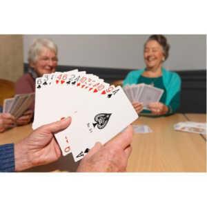 Cartas poker grandes
